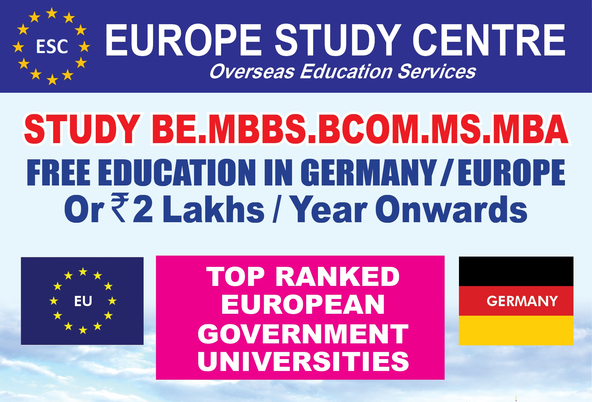 Europe Study Centre - Santacruz - Home | Facebook